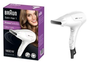 Braun HD 180 Satin Hair Dryer (White)