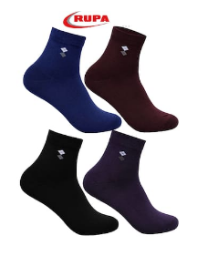 Buy Rupa Men's Cotton Assorted Long Socks - Pack of 4 - Paytmmall [...]