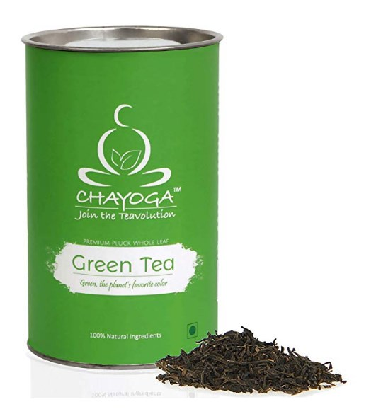 CHAYOGA Original Green Tea, Loose Leaf (100g) at rs.135