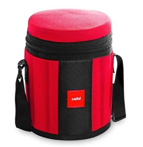 Cello Kingstone 3 Container Lunch Packs, Red at rs.390