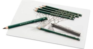 Faber Castell Castell 9000 Graphite Pencil rs 305
