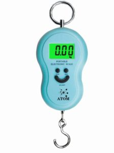 Flipkart- Buy Atom Portable/Commercial upto 50KG Weighing Scale  (Blue) at Rs 109