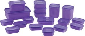 Grocery containers (pack of 18)