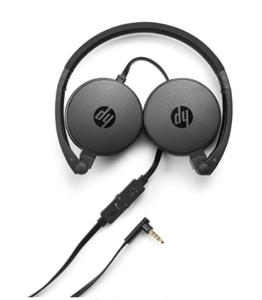 HP H2800 Stereo Headset with Mic (Black) at rs 849