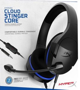 HyperX HX-HSCSC-BK Cloud Stinger Core Gaming Headset (Black) at rs.1799