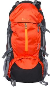 Impulse 65 Ltrs Orange Trekking Backpack rs 999