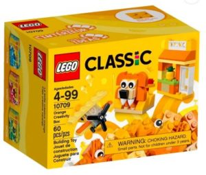Lego Orange creativity box