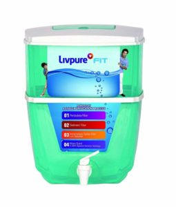Amazon - Buy Livpure Fit Gravity 9-Litre Water Purifier at Rs. 899