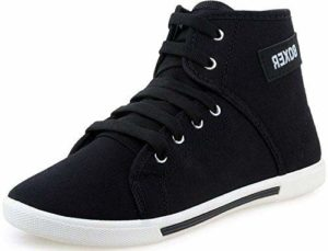 Loot-Amazon-Buy-Tempo-Womens-Black-Sneakers-Shoes-at-Rs-139