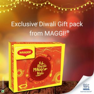 Maggi Festive Cooking, Diwali Gift Pack - 809 g at Rs149 only amazon