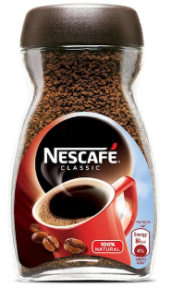 Nescafe Classic Coffee Glass Jar 100 gm at rs 185