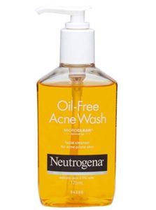 Neutrogena Oil Free Acne Face Wash, 175ml at rs.308