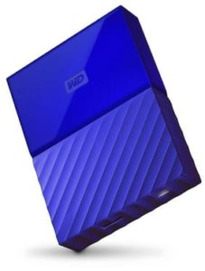 Paytm Mall - Buy WD My Passport WDBYFT0040BBL 4TB (Blue) at Rs. 6599