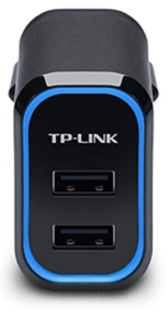 Port USB Charger (Black) - Buy TP-Link UP220 2-Port USB Charger at rs 649