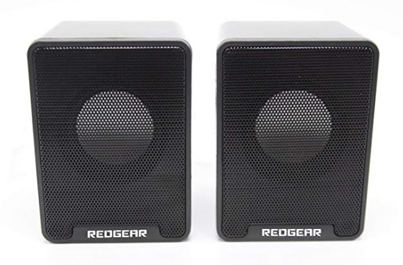Redgear Speakers GS733 with Passive radiators and 45 MM Drivers at rs.299