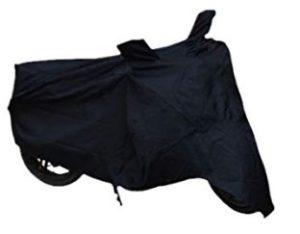 Retina Motorcycle Body Cover for Royal Enfield (Black)