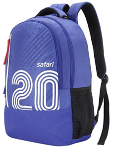 Safari 27 Ltrs Blue Casual Backpack (Twenty) Amazon in Bags, Wallet at Rs 756