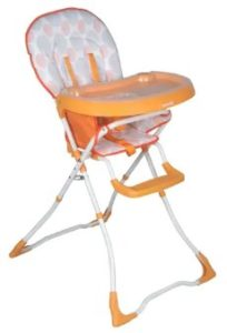 Sunbaby Mousie High Chair Orange at Rs.1,959