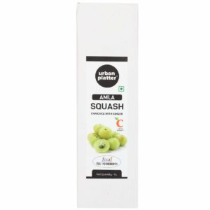 Urban Platter Amla Squash, 1L [Enriched With Ginger, Rich In Vitamin C]