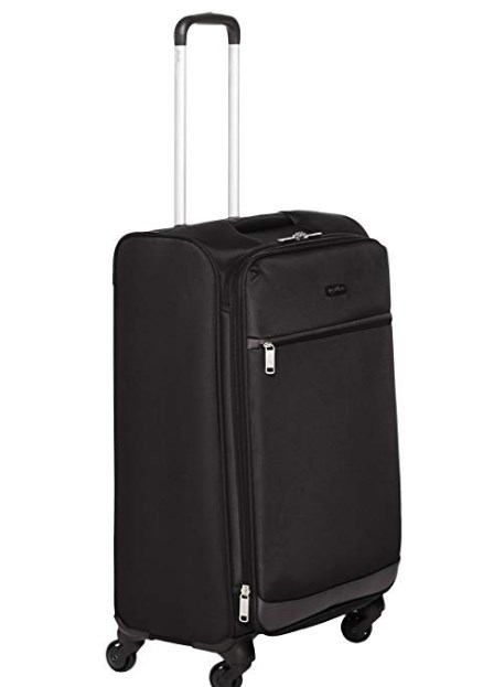 AmazonBasics Softside Suitcase with Wheels at rs.2399