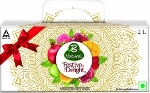 B Natural Festive Delight Juices Gift Pack 2 L
