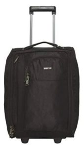 BagsRUs Polyester 21 cms Black Softsided Cabin Luggage (CA111FBL)
