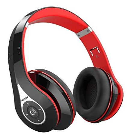 Bluetooth Headphones Mpow Extra Bass Over-Ear Foldable Wireless Headphone with Mic at rs.1499