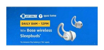 Bose Sleepbuds amazon quiz