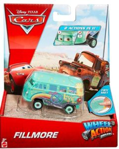 Cars Wheel Action Drivers Fillmore Vehicle, Multi Color