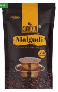 Continental Malgudi 80 Degree Fresh Filter Coffee 100 g  (Chikory Flavoured)