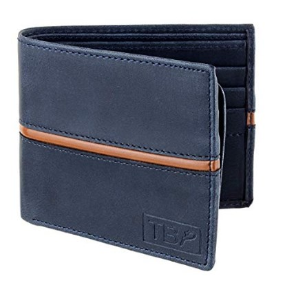 Dussledorf EGO Blue Artificial Leather Men's Wallet (EGO-07) at rs.149