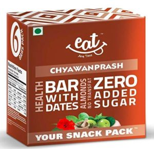Eat Anytime Energy Snack Bars, Chyawanprash, 228g (Pack of 6)