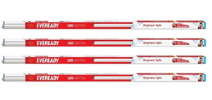 Eveready 20W 4 FT 6000K Cool Day Light Batten Pack of 4