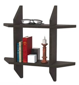 Forzza NAT Wallshelf with 1 Shelf (Wenge)