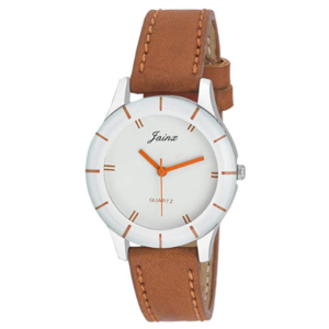 Jainx Analog White Dial New Age Ladies Sports Watch-JW543