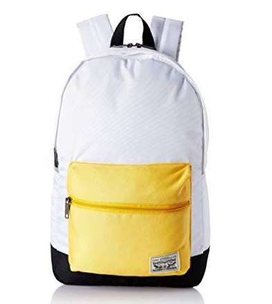 Levi's Fabric 32 cms Beige Backpack (38004-0080) at rs.594
