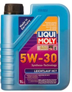 Liqui Moly Leichtlauf HC7 5W-30 ACEA A3,ACEA B4 Fully Synthetic Engine Oil (1 L)