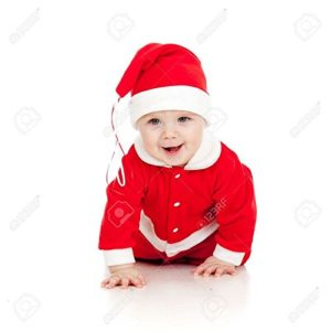 Mobison Santa Claus Costume For Kids (0-6 Months)