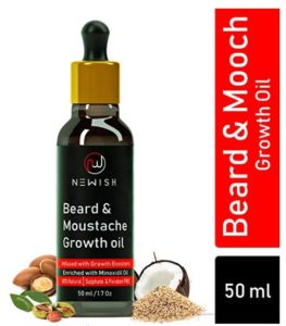 Newish Beard and Moustache Growth Oil, 50ml at rs.249