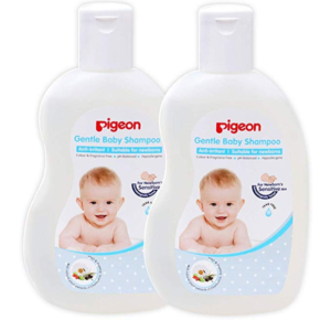 Pigeon Gentle Baby Shampoo Combo (Pack of 2), 200ml