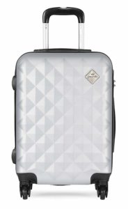 Pronto Naples ABS 65 cms Silver Hardsided Check-in Luggage