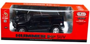 Racer Model Hummer SUV Car Rechargeable Remote Control, Black