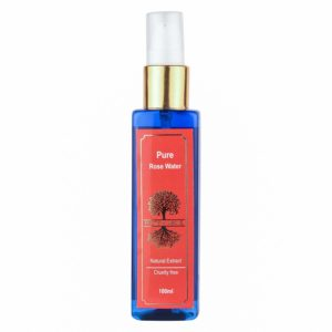 Roots & Above Pure Natural Rose Water, 100ml