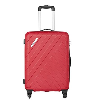 Safari Polycarbonate 66 cms Wine Red Hardsided Suitcases (HARBOUR 4W 65) 2474