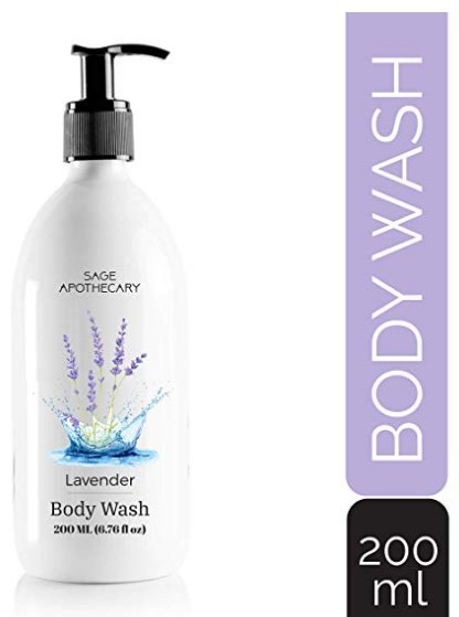 Sage Apothecary Lavender Body Wash, 200ML at rs.145