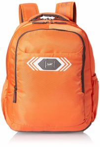 Skybags Polyester 32 Ltrs Orange Casual Backpack