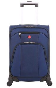 Swiss Gear Polyester 35 cms Blue Softsided Cabin Luggage (7737303154)