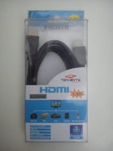Terabyte HDMI Male to Male v1.4 1080P Cable (Black)