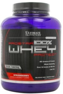 Ultimate Nutrition Prostar 100% Whey Protein (2.39 kg, Strawberry)