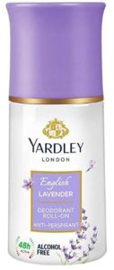 Yardley London - Deodorant Roll On Anti Perspirant, English Lavender, 50ml